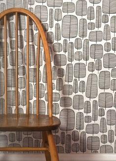 Little Trees Monochrome - retro tapet Decor, Tree Wallpaper, Room Design, Retro Tapet, Wallpaper, Tree Designs, Monochrome, Modern Wallpaper, Wallpaper Stores