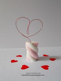 Think Creative il blog di Marina: Un segnaposto per San Valentino