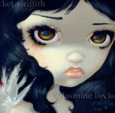 Faces of Faery #131 by Jasmine Becket-Griffith