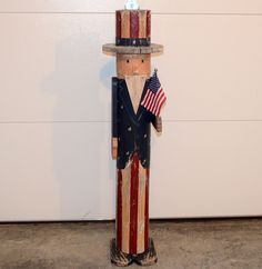 Uncle Sam Outdoor Statue