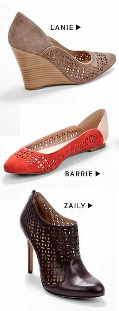 Laser Cut Detail Shoes ♡ L.O.V.E.