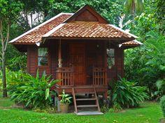 Typische Riksja Travel accommodatie in Maleisië.
