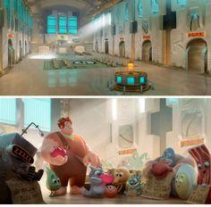 Concept Arts de Wreck-it Ralph!, da Disney   THECAB - The Concept Art Blog