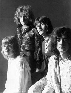 Led Zeppelin, 1968 (via ClassicPics on Twitter)