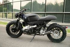 Lazareth Scrambler - BMW R1200 R by Jean-Thomas MAYER, via Behance
