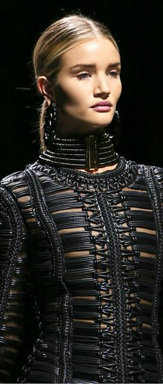 http://www.pinterest.com/joliesarts ∗ ♕Simply Divine #couture ~ avant garde ~ Balmain ● Fall 2014