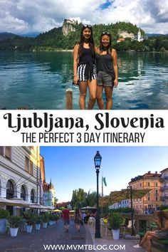 The Perfect 3 Day Itinerary for Ljubljana, Slovenia, including a cycling & culinary tour, day trip to Lake Bled, Vintgar Gorge and Lake Bohinj, Ljubljana Castle, sightseeing guide, food and beer tours, and restaurant/bar recommendations.