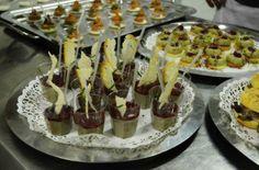 Dettagli del finger food a cura degli chef id Vetrina Toscana in occasione di Primavera KM 0 a Prato