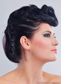 36 Besten 60er Jahre Frisuren Bilder Auf Pinterest Hair And Makeup