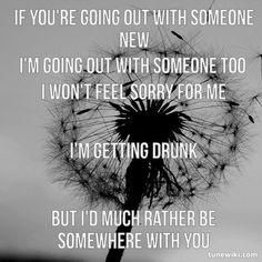 -- #LyricArt for Somewhere With You by Kenny Chesney