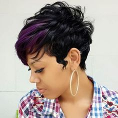 STYLIST FEATURE| Gorgeous #pixiecut styled by #AtlantaStylist @Hollywood9198✂️ Beautiful #haircut and color #VoiceOfHair ======================== Go to VoiceOfHair.com =========================Find hairstyles and styling tips! =========================