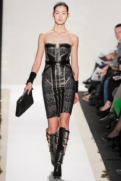 Hervé Léger by Max Azria | Fall 2012 Ready-to-Wear Collection | Vogue Runway