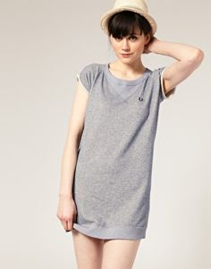Fred Perry Sweatshirt Dress