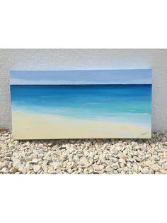 Acrílico en lienzo de 30x60cm bastidor doble IBIZA BLUE autor ROMINA R para www.villafiore.es. Deja que entren los colores del mar a tu hogar!!! Consigue un ambiente fresco y mediterráneos con los colores de las aguas de IBIZA y FORMENTERA. Puedes adquirirlos en www.villafiore.es por 100.00€. Realizados a mano, puedes encargar el tamaño que mejor se ajuste a tu espacio. #formentera #ibiza #lienzoenacrilico #cuadromarinas #marinas #azul #turquesa #pinturaazul #oleo