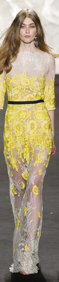 Naeem Khan Collection Spring 2015 | The House of Beccaria~