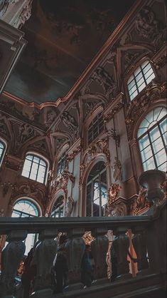Architecture Classique, Baroque Architecture, Classic Architecture, Beautiful Architecture, Architecture Portfolio, Ancient Architecture, Sustainable Architecture, Sketch Architecture, Watercolor Architecture