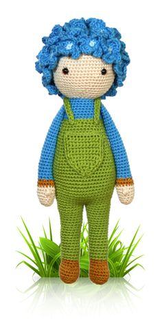 Hydrangea Hank - crochet amigurumi pattern by Zabbez / Bas den Braver