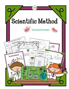 This simple yet great set on learning the Scientific Method.. Over the years I have realized that although my 5th graders just simply LOVE taking part in science experiments. They struggle to complete each of the steps involved in the scientific method and dont understand its importance.