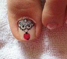 My Nails, Class Ring, Nail Art, Gemstones, Toe Nail Designs, Flower Nails, Flower Nails, Craft, Pretty Toe Nails