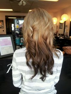 Light to dark Ombre! I want the colors but reverse dark to light! :)