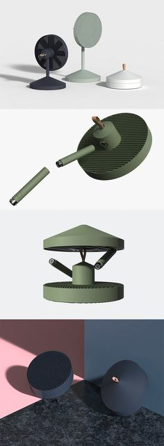 The 'Conbox' is a uniquely designed fan, it's an entire table fan which can be disassembled, allowing it to be packed neatly into a tiny little box, since fans are pretty much a seasonal appliance... READ MORE at Yanko Design!