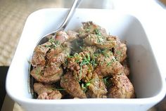 stir-fired chicken livers w/curry and caramelized onions (paleo)