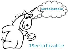 How to not shoot yourself in the foot when working with serialization ‪#‎programming‬ ‪#‎csharp‬ ‪#‎dotnet‬ ‪#‎ISerializable‬