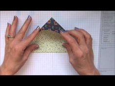 "Treat holder using 6"" x 6"" piece of pretty paper :-) www.keenankreations.com"