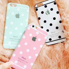 Cute polka-dot phone case!