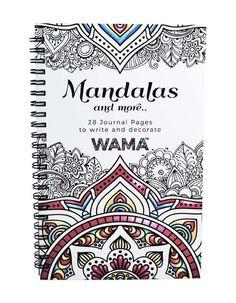 WAMA™ Adult Coloring Journal - Mandalas