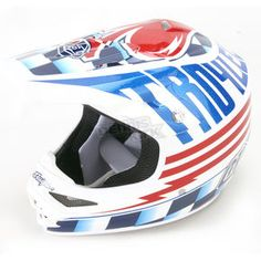 bd82c2804 Troy Lee Designs White Air Ace Helmet - 0113-1110 Dirt Bike