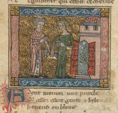 Roman de la Rose Date d'édition : 1301-1350 Type : manuscrit Langue :Français