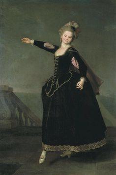 Dmytro Levytsky (Dmitry Grigoryevich Levitsky) Ukrainian/Russian 1735-1822. Portrait of Natalia Borschovo 1776