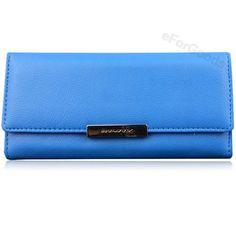 New Women Fashion PU Leather Wallet Button Clutch Purse Lady Long Handbag Bag Photo Window, Detailed Image, Clutch Purse, New Woman, Pu Leather, Purses, Wallet, Lady, Womens Fashion