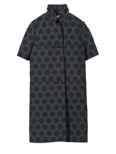 Duster coat Women Marni - Shop the official Virtual Store. Pattern & short sleeve