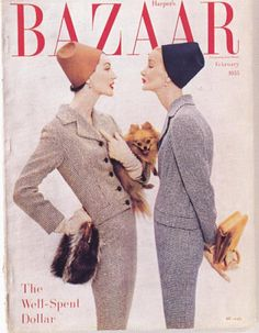 cMag298 - Harper´s Bazaar Magazine cover by Alexei Brodovitch / February 1933