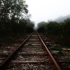 Old Train Track #iPad #Wallpaper
