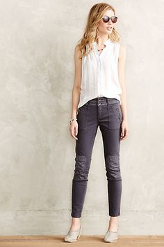 Pilcro Patched Moto Leggings #anthropologie