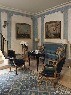 Henri Samuel.  Hotel L'Orrouer, Susan Gutfreund.