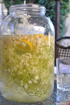 Bezovka - domácí limonáda Czech Recipes, Russian Recipes, Smoothie Drinks, Smoothies, Pies Art, Juicing For Health, Food Club, Cooking Recipes, Healthy Recipes