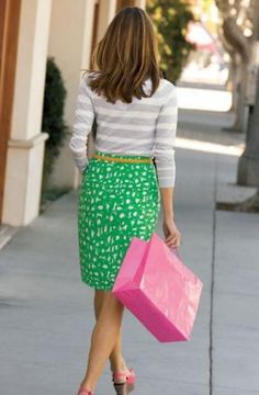 Pattern Mixing Guide: Stick to tailored clothes. Unless you want to end up looking like a giant drapery factory, choose a form-fitting blouse with a flowing skirt. Or go for a pencil skirt with a boxy top.    http://www.ehow.com/how_4489629_mix-clothing-patterns.html#ixzz2JumgLUXS