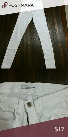 flying monkey white jeans perfect condition flying monkey Jeans Skinny