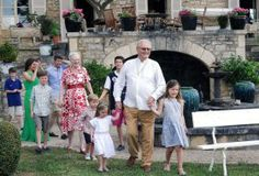 In celebration of his birthday Prince Consort, Prince Henrik and the Danish Royal family gather at his ancestral vineyard in Caix, France for a birthday photocall June 11, 2014