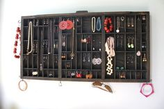 Jewelry Display Recycled Art