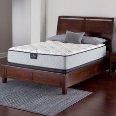 Ganwick Serta Perfect Sleeper Plush Innerspring Mattress & Box Spring Set, White