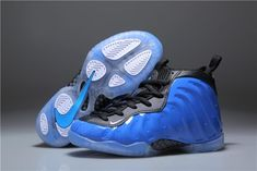 cdc0a6bfc51 Youth Basketball Shoes 2018 Cheapest Nike Air Foamposite One XX Royal Dark  Neon Royal Black-White