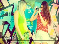 A coleção de verão14 da Coca-Cola Jeans é uma mistura de cores. #vistaafelicidade