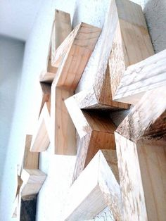 Wooden Star Wall Decor diy wooden star | rogues