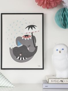 Affiche Elephant Love MICHELLE CARLSLUND - Photo