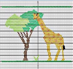 Giraffe Smocking Plate